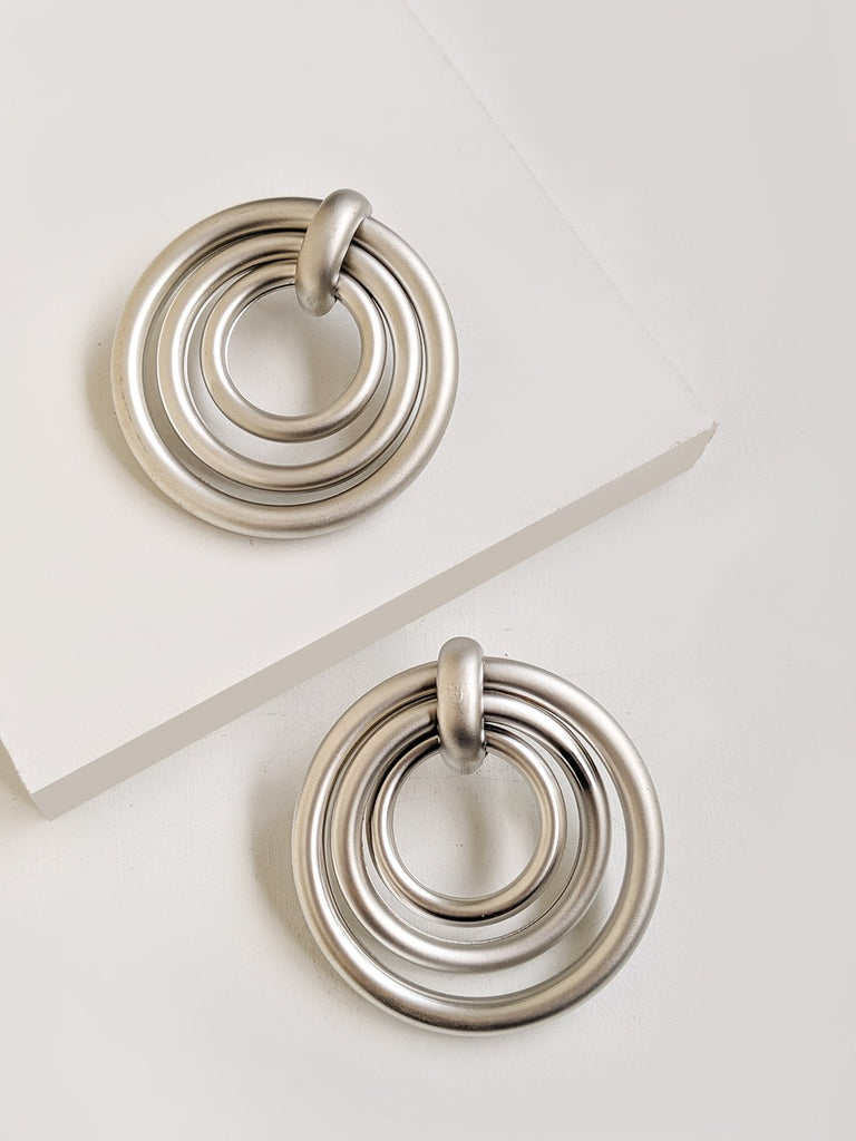 Circiular Hoop Earrings