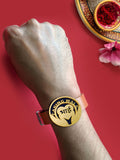 Rose Gold Caring Bhai Rakhi