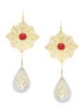 Royal Armour Earrings (Pair Of 2)