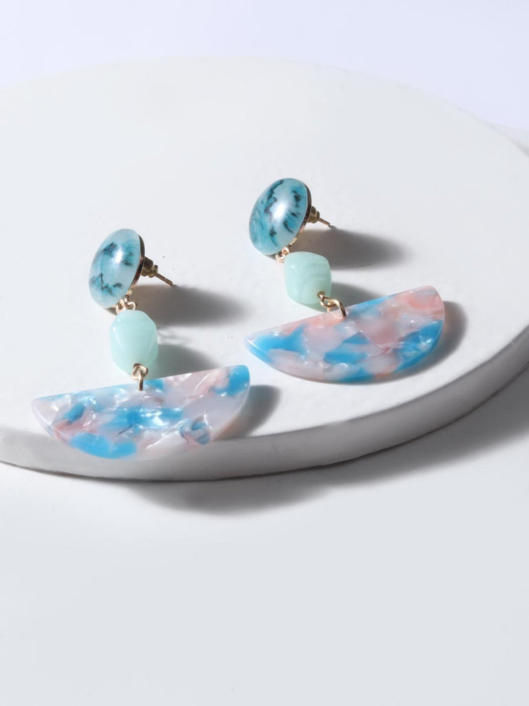 Keith Resin Drop Earrings