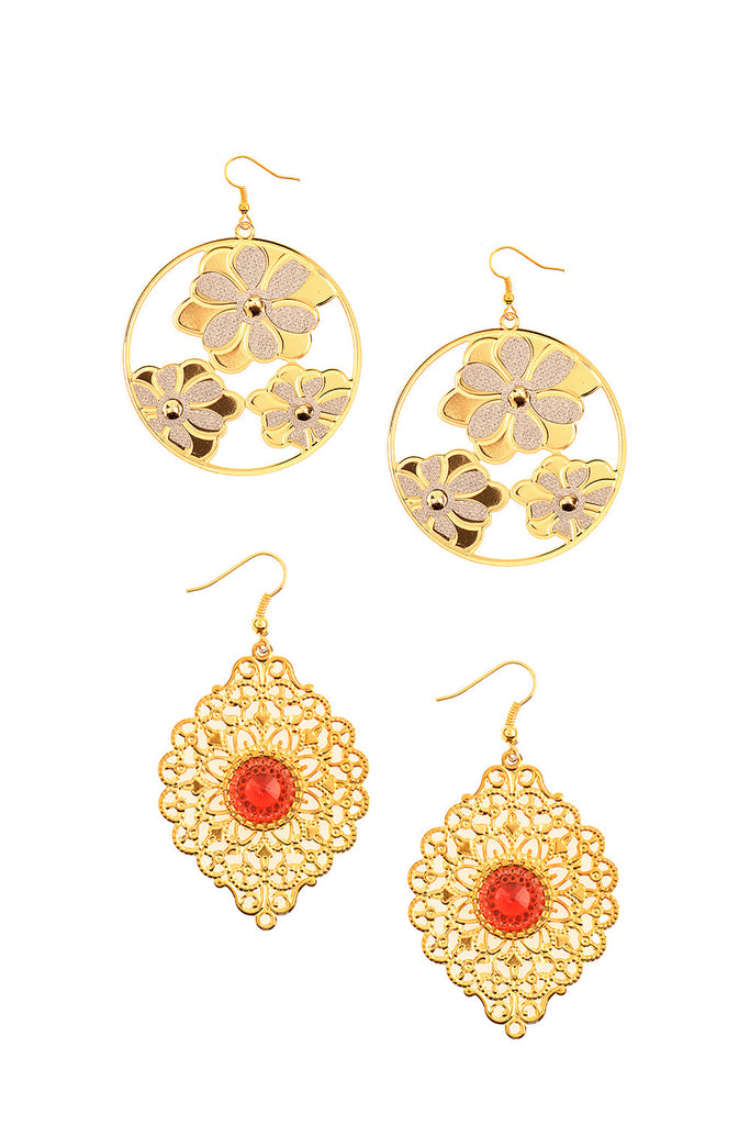 Order Some Drama Earrings (Pair Of 2)