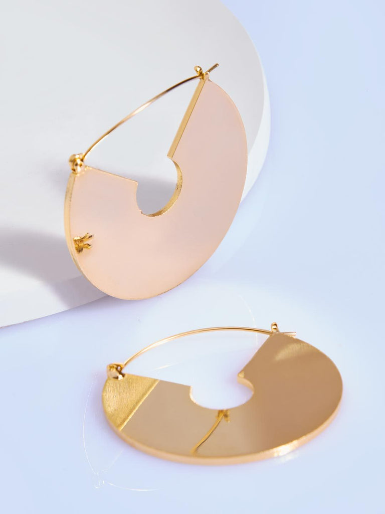 Golden Circlet Earrings
