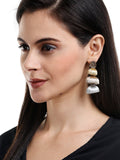 Shades Of Ivory Earrings