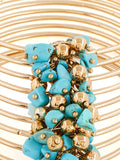 Turquoise Love Cuff
