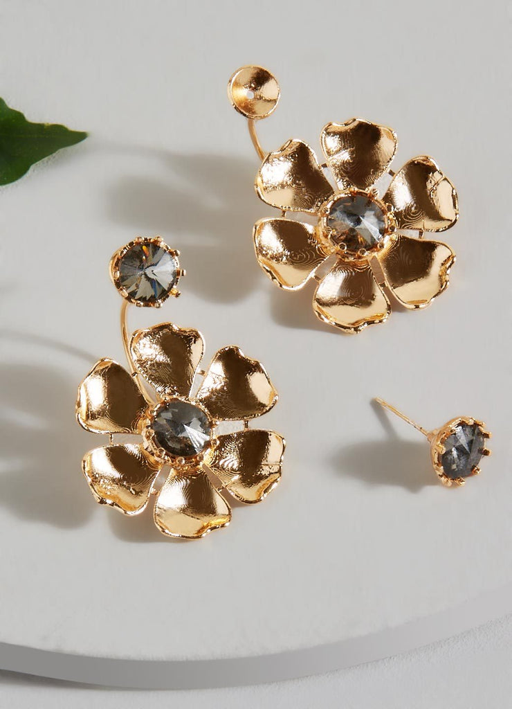 Lucille Front-Back Earrings