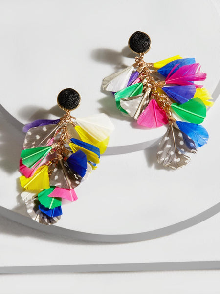 Miranda Feather Earrings