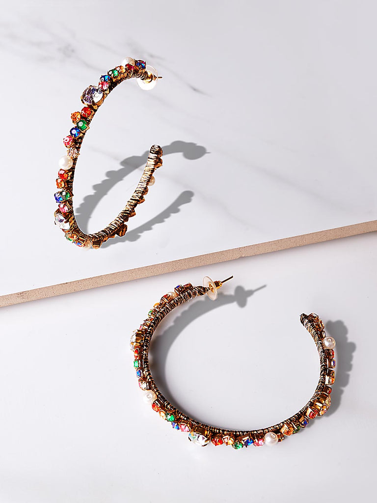 Arya Hoop Earrings