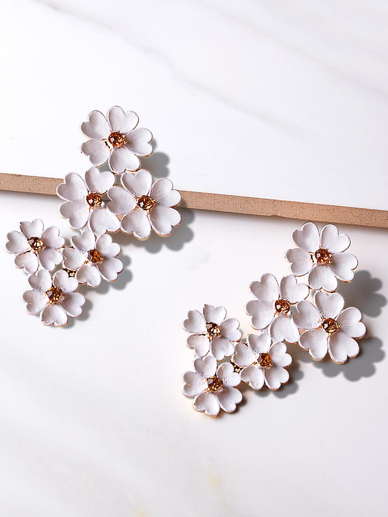 Full Bloom Drop earrings