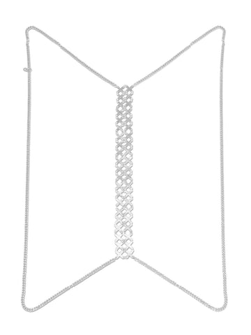 Cross Back Spine Chain