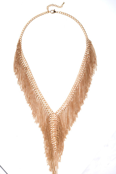 Fringed Fanatic Necklace