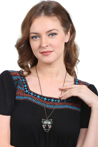 Owl Motif Necklace