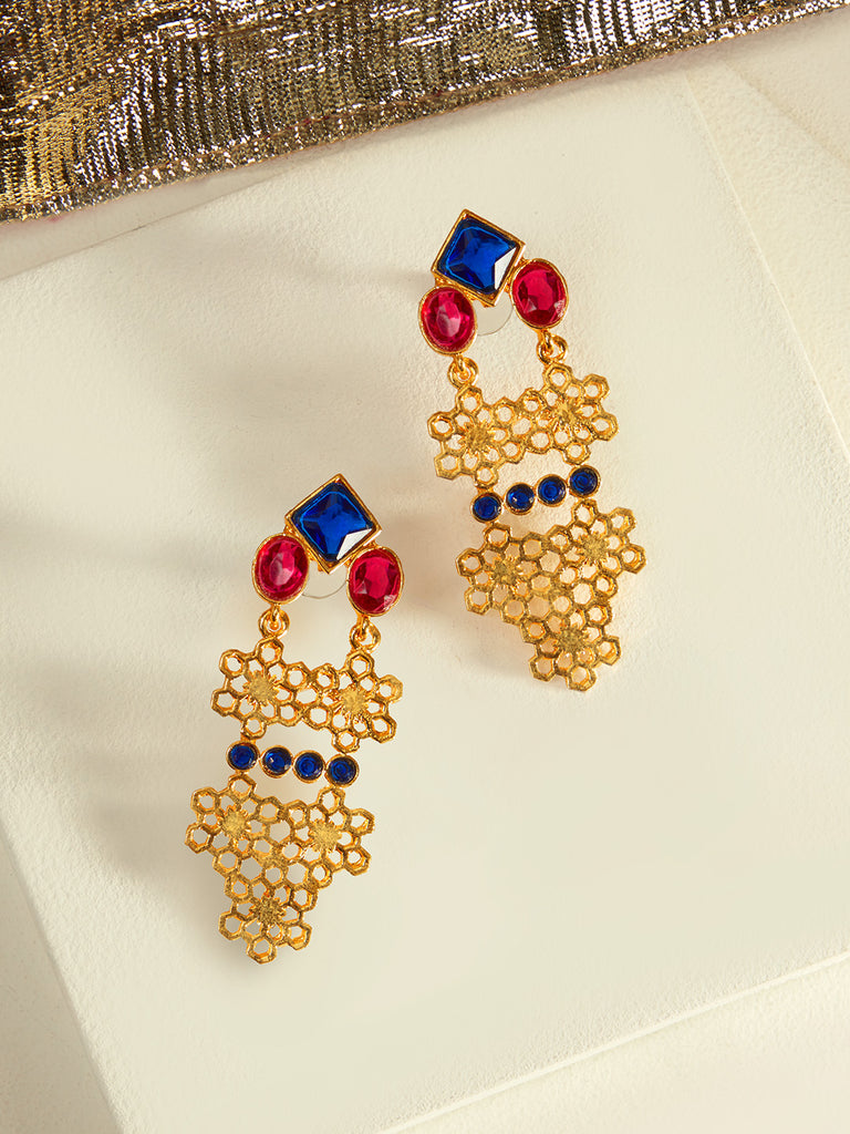 Mesh And Me Earrings