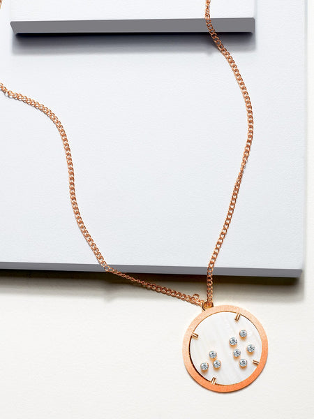 Zodiac constellation pendant (Mother Of Pearl)