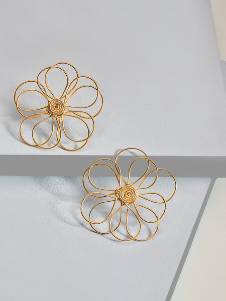 Darling daisy earrings