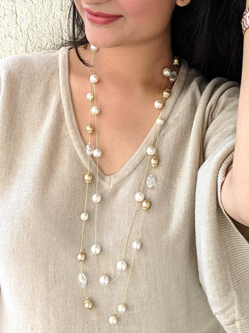 Pearl layared Necklace