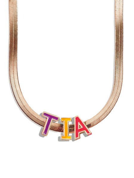 Salina Personalized Name Necklace