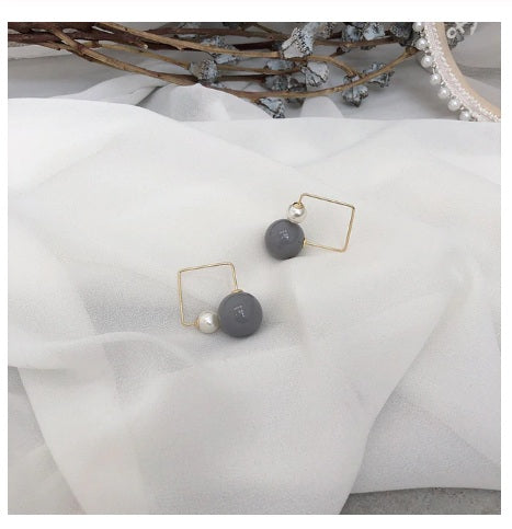Earrings for Women Metal Bump Party Beach Jewelry