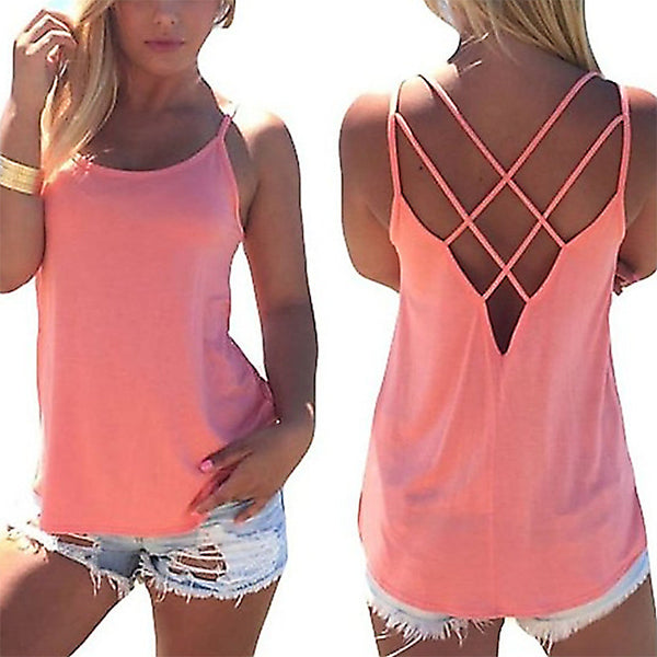 Cool Loose Charming Sun-Top Sexy Vest