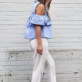 YANA Cold Shoulder Blouse