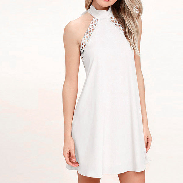 EVA Crochet Lace Dress