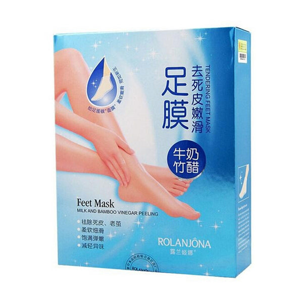 Milk Bamboo Remove Dead Skin Foot Skin Smooth Exfoliating Feet Mask Foot Care