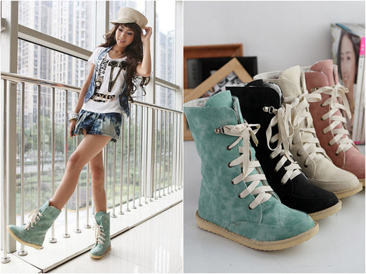 Fashion PU boots