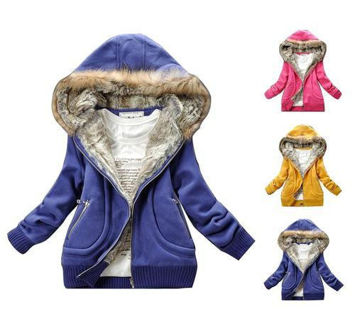Collar Hooded Sweater Winter/Autumn Women's Hoodie