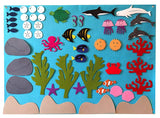 Under the Sea Felt Wall Set