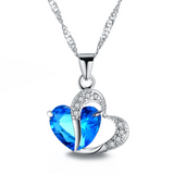 Top Class Lady Fashion Heart Pendant Necklace