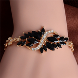 Gold Filled CZ Austrian Crystal Bracelet