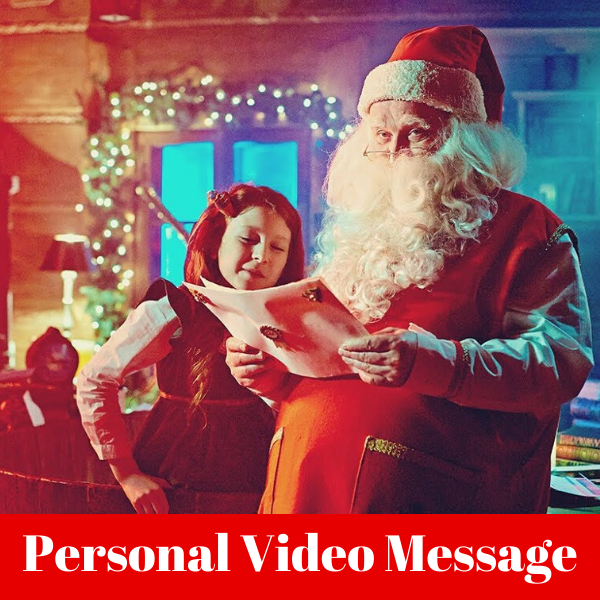 Personal Video Message From Santa