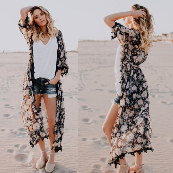 Long Bohemian Blouse