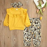 Girls 3 Piece Print Outfit