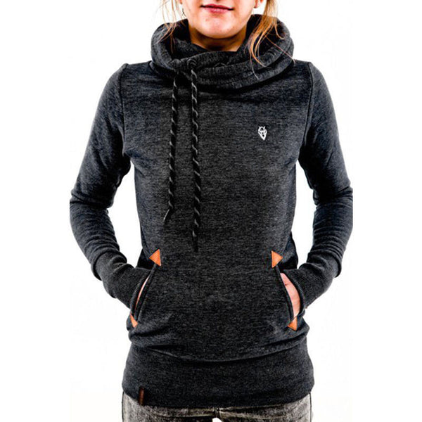 Womens Casual Hoody Hoodie Sweatshirt Hooded Sweater Ladies Pullover Jumper Coat