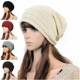 Ladies Soft Knitted Slouch Hat
