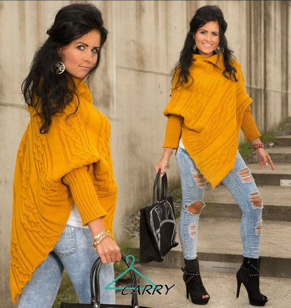 Elsie Poncho Jumper Sweater