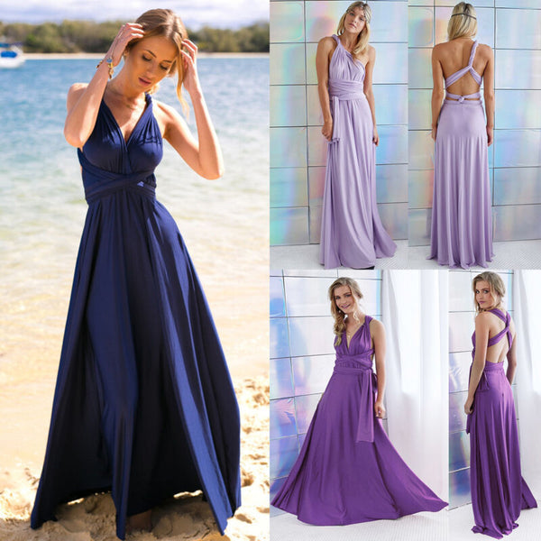 Elsie Designer Evening Bridesmaid Formal Long Dresses