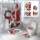 Christmas Bathroom Rug Set ( 50% OFF )