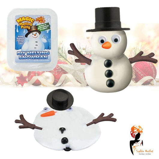 Magic Melting Snowman Putty