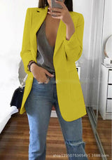 Women's Ladies Fashion Slim Fit Casual Business Blazer Suit Jacket Coat Outwear