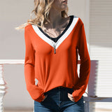 Valeria Women Long Sleeve Loose Pullover
