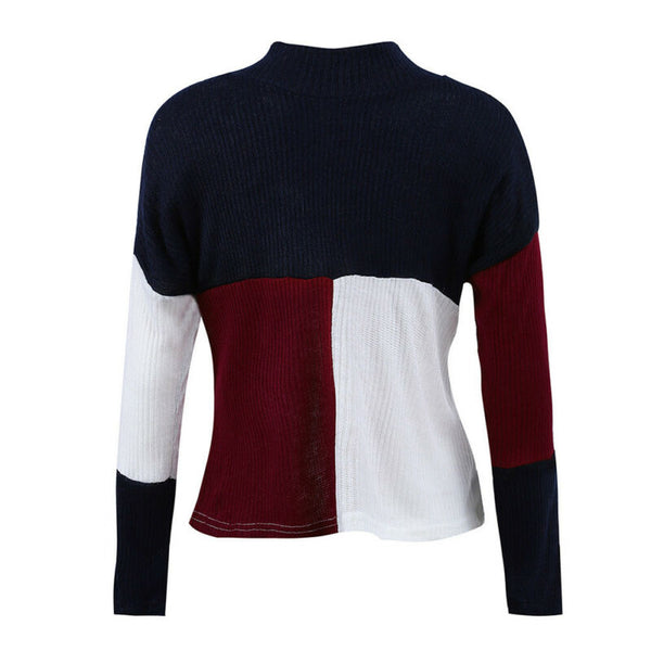 Laroche Warm Winter Long Sleeve Knitted Sweater