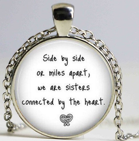 Sister Side By Side Pendant