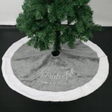 Round Christmas Tree Skirt