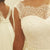Cap Sleeve Lace Beach Wedding Dresses, 2017 Chiffon Long Custom Wedding Gowns, Affordable Bridal Dresses, 17096