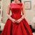 Blush red stain A-line bowknot cute unique formal freshman homecoming prom gown dress,BD0025
