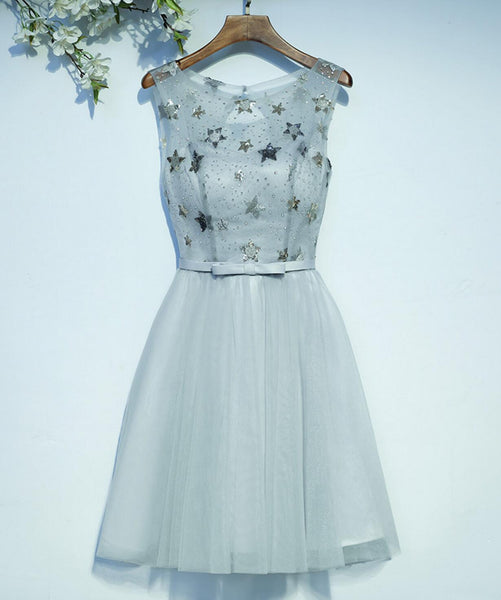 2017 New Arrival Pretty Beading Applique Lace Up Back Homecoming dresses,220003