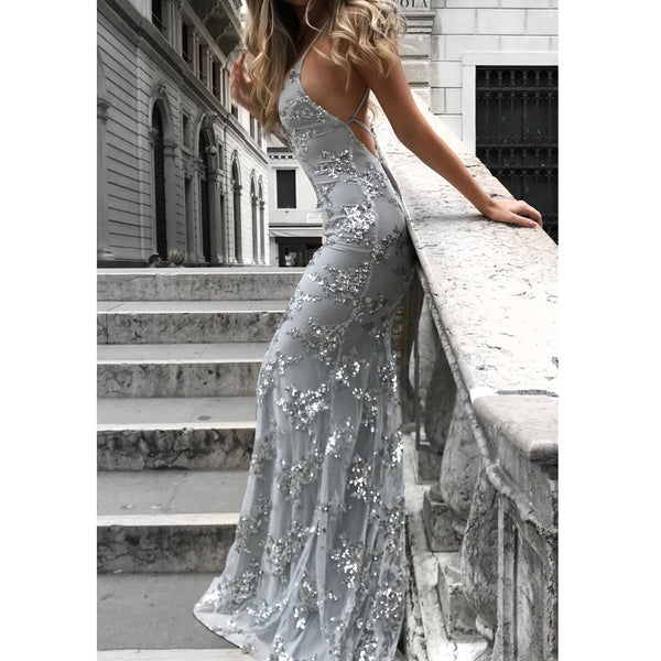 4380eae7a5 Lace Mermaid Tulle Prom Dress