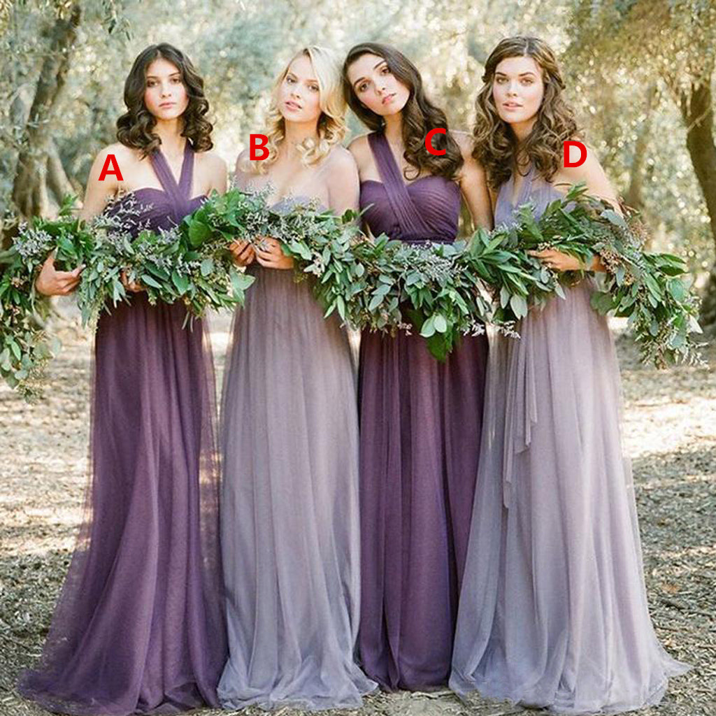 Chiffon Bridesmaid Dresses – OkBridal