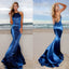 Long Prom Dress, Satin Prom Dress, Mermaid Prom Dress, Sequin Prom Dress, Sexy Prom Dress, Backless Prom Dress, Floor-Length Party Dresses, Vintage Evening Dresses, LB0761